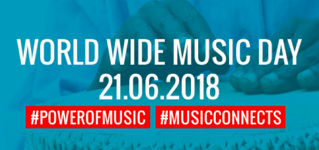 World Wide Music Day Is Only 7 Days Away!