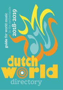 About World Music Forum NL – World Music Forum