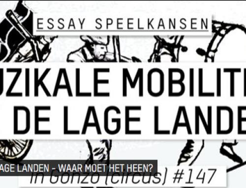 Mobiliteit in de lage landen – Essay