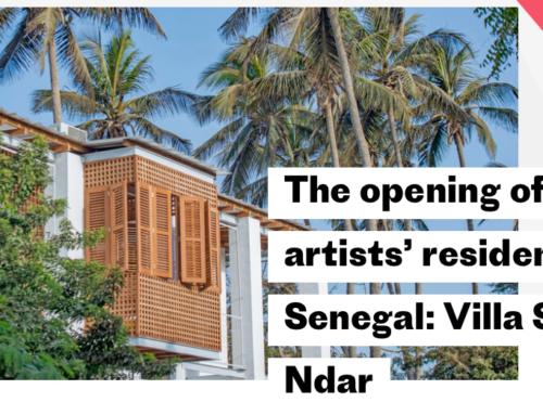 Artist in residence in Senegal via Institut Francais