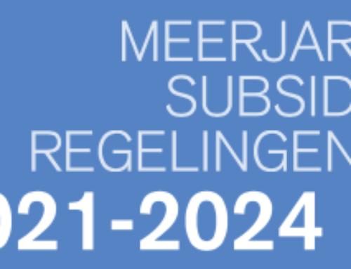 Meerjarige subsdieregelingen 2021-2024 – Fonds Podiumkunsten
