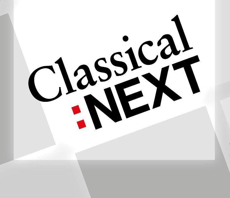 Registratie Classical:NEXT + nieuwe data