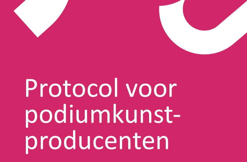 Protocol podiumkunstproductie gereed