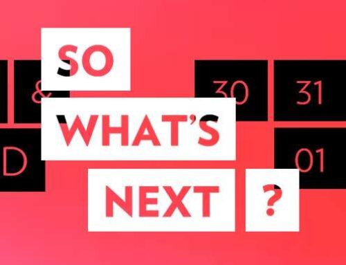 So What's Next? 2020 – Eerste namen