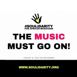 The music must go on! #soulidarity fundraising campaign