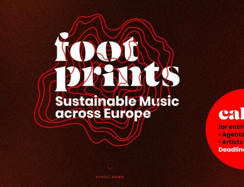 Footprints sustainable music across Europe – apply till February 12