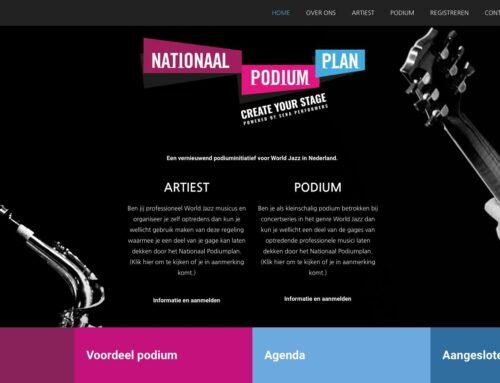 Nationaal Podiumplan voor Jazz en World  1 juni van start