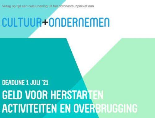 GELD VOOR HERSTARTEN ACTIVITEITEN EN OVERBRUGGING deadline 1 juli